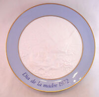 Lladro Mother's Day Plate 1972 Bird & Chicks Dia De La Madre Hen Collector