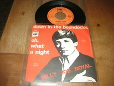Billy Joe Royal.A.Down in the boondocks.B.Oh what a night.(3369)