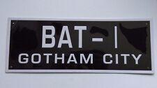 Eaglemoss Batman Automobilia - Subscriber Special Batman Number Plate  BAT - 1