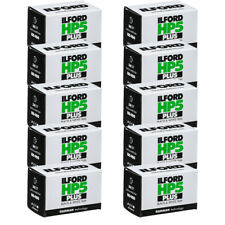 10 Rolls Ilford Hp5 Plus 400 36 Exp. Black and White 35mm Film Hp5-36 Fresh