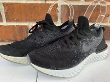 Nike Epic React Flyknit Women's Running Shoes US 5 Black Gray AQ0070 001 Sneaker
