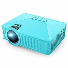 Mini Projector Gp15 50 Brighter Portable LCD Video Projectors 20000hours Suppo