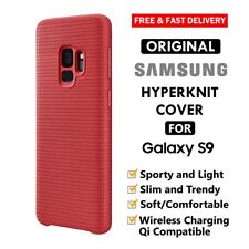 GENUINE Samsung S9 Hyperknit Cover for Galaxy S9 KnItted Fabric Cloth Soft Case