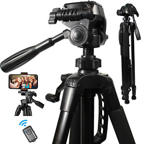 Aluminum Alloy Camera Tripod Stand Holder for Canon Nikon Cell Phone Remote DSLR