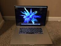 "Apple MacBook Pro A1297 17"" Laptop 2.53GHz Core i5 8GB 1TB NVIDIA Full HD"