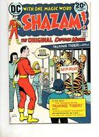 Shazam #7 High Grade VF/NM 9.0, DC 1973!! TALKING TAWNY COVER and C.C. Beck Art!