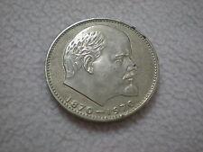 Rußland -  3  x  1  Rubel  1970   - 100 J. Lenin  -