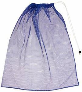 BSN Heavy-Duty Mesh Equipment Bag Blue