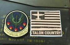 #15thsos And #taloncountry Patch And Sticker Set