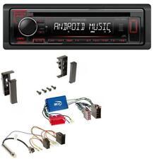 Kenwood MP3 CD 1DIN AUX USB Autoradio für Audi A2 A3 8L A4 B5 A6 C5 Aktivsystem
