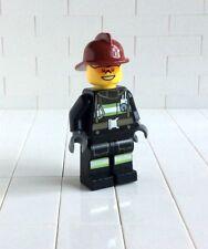 a6 # Lego -Figur Minifig City Feuerwehrmann (973)