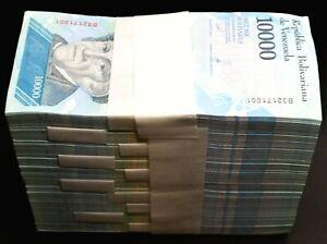 2017 Venezuela $10,000 Bolivares 1000 Pcs Brick Bundle UNC Rare Brick SKU320