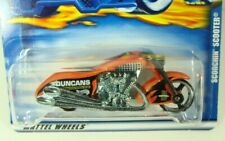 Hot Wheels 2000 Orange Scorchin' Scooter Duncans Motorcyles #240 Combine Ship