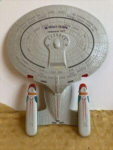 Star Trek Hasbro Playmates 1992 USS Enterprise NCC-1701-D Tested Works
