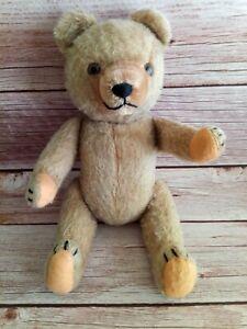 Vintage 50s Hermann German Full Jointed Mohair Teddy Bear