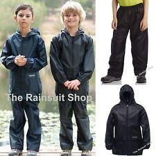 REGATTA KIDS WATERPROOF STORMBREAK JACKET & TROUSERS SUIT BOYS GIRLS CHILDS COAT
