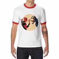 Men's Funny Venom ice Cream T-Shirt Cotton Short Sleeve Fashion Tops Tee shirts