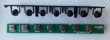 Neon BC0A2D471H M258D012A Placa de botón de función de TV Neón C 47227 TDT 2-3D