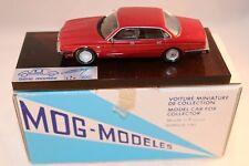 MOG Modeles 9 Jaguar XJ.6  3.6L -1989 red very near mint in box made in France