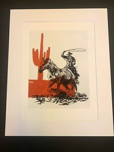 Matt McCormick Lithograph Giclee Fine Art Print 12X16 Rare And Limited 1 Of 100