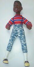 Nanco Family Matters Steve Urkel large doll black hair Vintage 1991 1990s