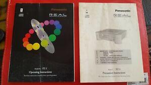Panasonic R.E.A.L. 3DO 3D0 FZ-1 FZ1 Video Game OPERATING MANUAL MANUALS