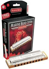 Hohner Marine Band Harmonica, Key of A,  Brand New in Box