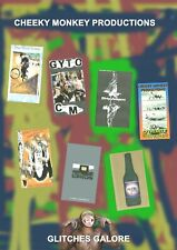 Cheeky Monkey BMX - Glitches Galore - 7 x Old School UK BMX Video on 2 x DVDs