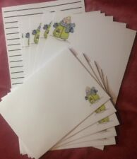Winter Snowman letter writing paper stationery set with matching envelopes