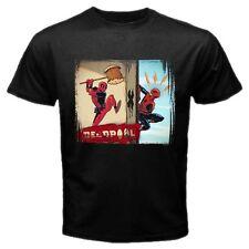 DeadPool Spiderman Funny Super Hero #B01 Men Black T Shirt S M L XL XXL