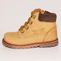 Shoesme Infant Girls & Boys DE7W098-B Camel Lace & Zip Boots