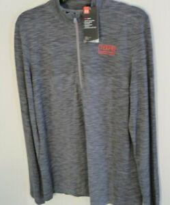 New Under Armour University of Maryland Terrapins men's large 1/2 zip jacket NWT