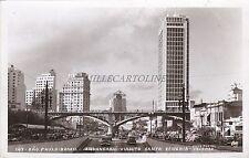 BRAZIL - S.Paulo - Anhangabau-Viaduto Santa Efigenia - Photo Postcard 1956
