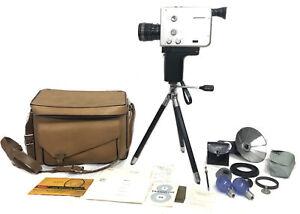 Braun Nizo S56 film cine MOVIE camera Super 8 mm SINGLE FRAME 54fps *READ*