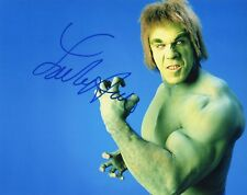 """~~ LOU FERRIGNO Authentic Hand-Signed """"The Incredible HULK"""" 8x10 Photo ~~"""