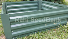 NEW Galvanised Steel Raised Garden Bed 1200x900x300mm Planter Box $39.99