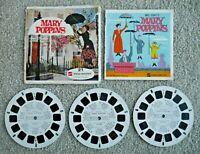 MARY POPPINS VIEWMASTER REELS 1964 WALT DISNEY SET B376 RARE   J197