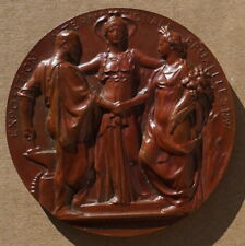 MÉDAILLE / EXPOSITION INTERNATIONALE BRUXELLES 1897 / LABAE & WOLFERS /