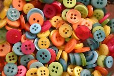 100 SMALL CITRUS Buttons New - Great for Sewing Craft Scrapbooking & more *