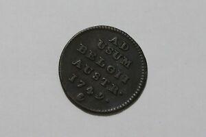 BELGIUM NETHERLANDS LIARD 1749 B38 WI40