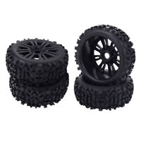 4pcs RC Car Buggy Short Course Wheels Tires 1/8 RC Truggy Truck Accessory