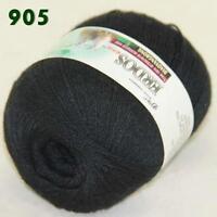 Sale 1 ball LACE Soft Crochet Acrylic Wool Cashmere Wrap Hand Knitting Yarn 05