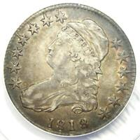 1818 Capped Bust Half Dollar 50C Coin - Certified ANACS VF35 - Rare Date!