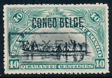 1910 Belgian Congo Stamp, #50, Postage Due Taxes overprint, Mng