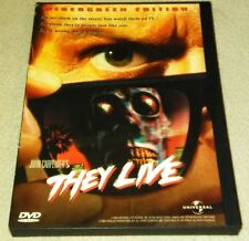 They Live (DVD *RARE oop *HORROR *HALLOWEEN