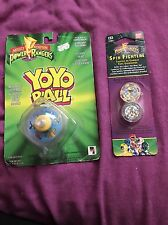 Mighty Morphin Power Rangers Yoyo Toy & Spin Fighters King Sphinx -Vintage