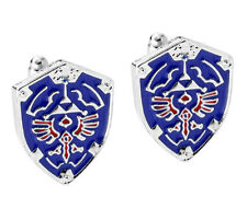 Cufflinks Zelda Shield Video Game Gamer Gaming Cuff Links Mens Womens Brand New