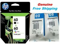 Genuine HP 60 Ink Cartridge Combo for HP 2680 C4680 C4688 Printer-NEW-holiday