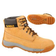 DeWalt Apprentice Work Boot Flexi Hiker Steel Toe Safety Size 8 Honey