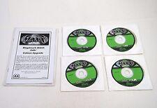 MERIT MEGATOUCH MAXX JADE EDITION SOFTWARE DISCS 1-4 / 4 DISCS ~ NO SECURITY KEY